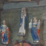 św. Katarzyna, Maryja, św. Barbara